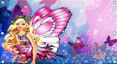 Painel de Festa Barbie Butterfly
