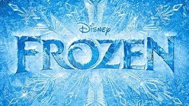 Frozen painel infantil para aniversário fundo em neve