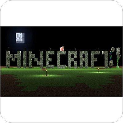 Painel de Festa Infantil Minecraft