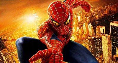 Painel de Aniversario Homem Aranha