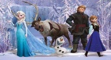 Painel de Aniversario Frozen Aventura Congelante