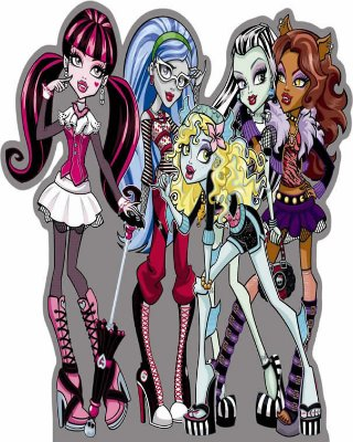 Totens - Displays - Monster High