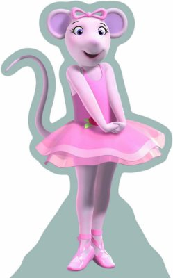 Totens - Displays - Angelina Ballerina