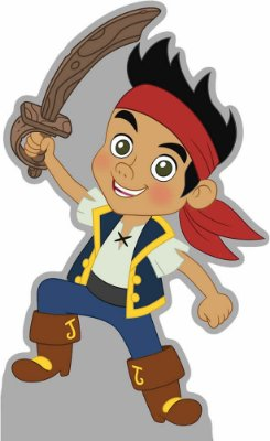 Totens - Displays - Jake e os Piratas