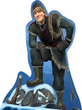 Personagem Kristoff para decoração frozen