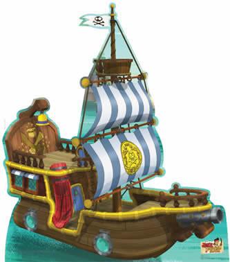 Totens - Displays - Jake e os Piratas