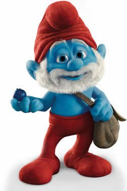 Totens - Displays - Smurfs