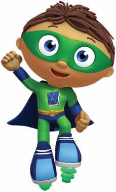 Totens - Displays - Super Why