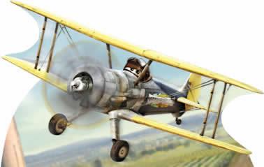 Totens - Displays - Aviões - Planes 05
