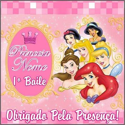Tags para Cupcake - Princesas Disney