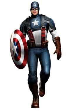 Totens - Displays - Capitão América