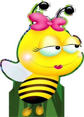 Totens - Displays - abelhinhas 09