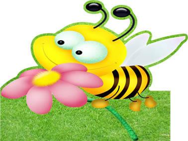 Totens - Displays - abelhinhas 10