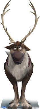 Personagem Sven Frozen Disney para decoração