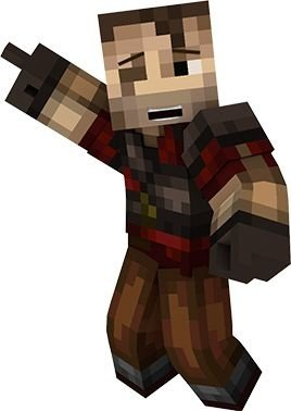 Personagem de mesa Minecraft