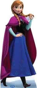 Displays Frozen Anna de Mesa ou Chão