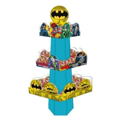 Baleiro de 3 andares Batman | Festcolor