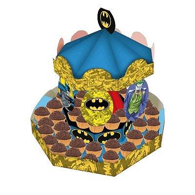 Carrossel descartável Batman | Festcolor
