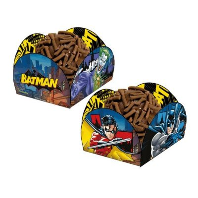 Porta forminha para doces Batman 40 unidades | Festcolor
