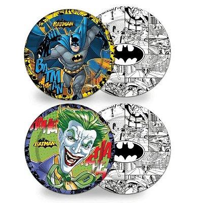 Prato Descartável Batman 08 unidades