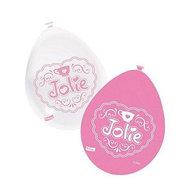 Balão de Látex Jolie 25 unidades|Festcolor