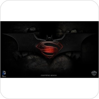 Painel de Festa Infantil Batman vs Superman Logo II