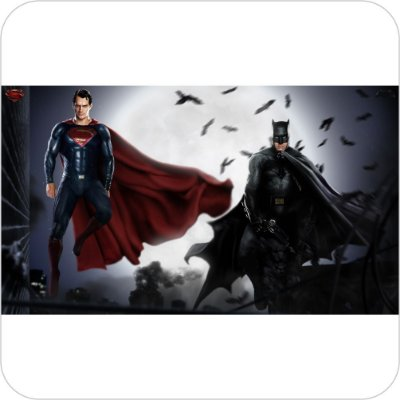 Painel de Festa Infantil Batman vs Superman - Clark e Bruce