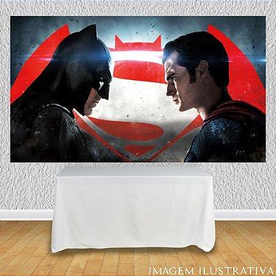 Painel de Festa Infantil Batman vs Superman