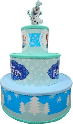 Bolo de Eva Frozen