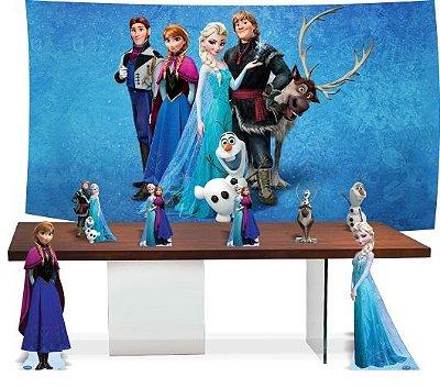 Kit Festa Pronta Frozen uma aventura congelante