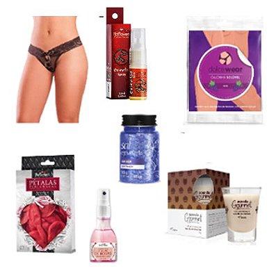 Kit Erótico Casal Romântico - Provocative Sex Shop (7 itens)