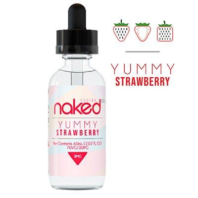 E-Liquido NAKED 100 Yummy Strawberry 60ML