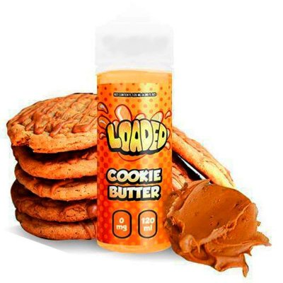 E-Liquido LOADED Cookie Butter 120ML
