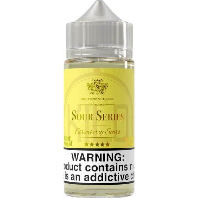 E-Liquido KILO SOUR SERIES Strawberry Sours 100ML