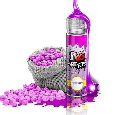 E-Liquido IVG SWEETS Blackcurrant 50ML + (IVG NicShot 10ML)