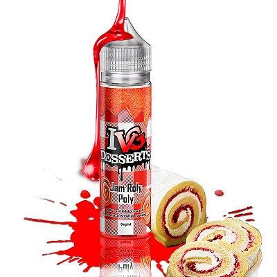 E-Liquido IVG DESSERTS Jam Roly Poly 50ML + (IVG NicShot 10ML)