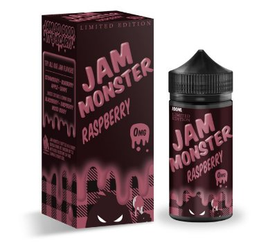 E-Liquido JAM MONSTER Raspberry 100ML