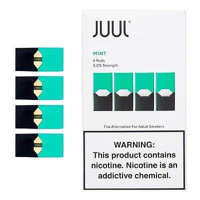 JUUL Pod (Cartucho) para Pod System MINT (4 Unidades)