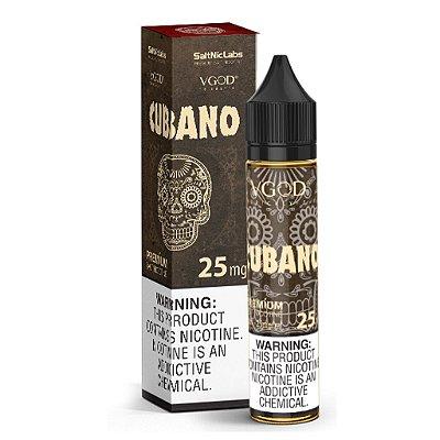 E-Liquido VGOD SALT Cubano 30ML