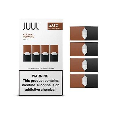 JUUL Pod (Cartucho) para Pod System CLASSIC TOBACCO (4 Unidades)