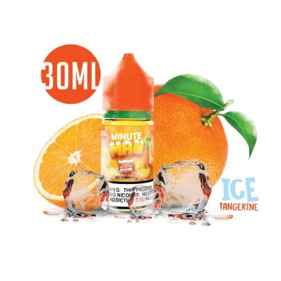 E-Liquido MINUTE MAN Salt Tangerine Ice 30ML