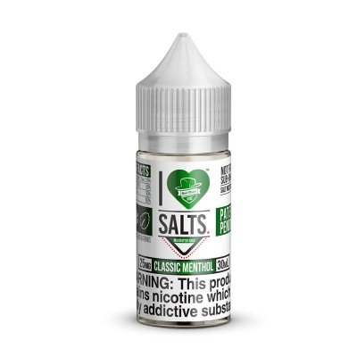 E-Liquido MAD HATTER JUICE SALT I Love Salts Classic Menthol 30ML