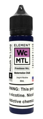 E-Liquido ELEMENT MTL Watermelon Chill 60ML