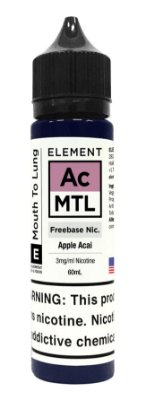 E-Liquido ELEMENT MTL Apple Acai 60ML