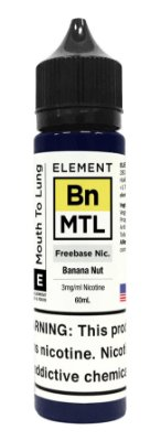 E-Liquido ELEMENT MTL Banana Nut 60ML