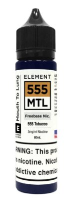 E-Liquido ELEMENT MTL 555 60ML