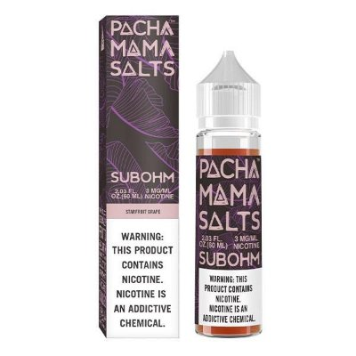 E-Liquido PACHA MAMA Salts Sub-Ohm Starfruit Grape 60ML