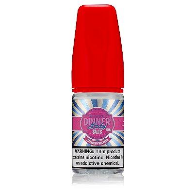 E-Liquido DINNER LADY Salts Strawberry Macaroon 30ML