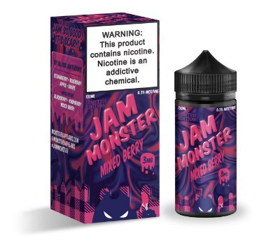 E-Liquido JAM MONSTER Mixed Berry 100ML