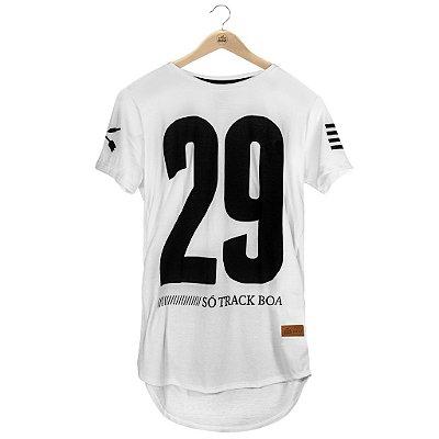Camiseta Longline Twentynine Branca Botonê - Masculina
